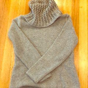Eileen Fisher wool blend turtleneck sweater
